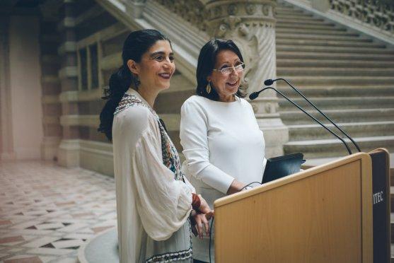 Claudia Prutsche & Parvin Razavi
